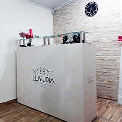 Adesivo decorativo de balcão - Luxúria Sex Shop