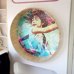 Adesivo decorativo para parede de quarto