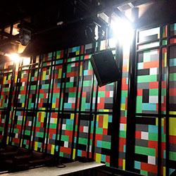 Decoração - Revestimento de parede com lego - Revestimento de parede