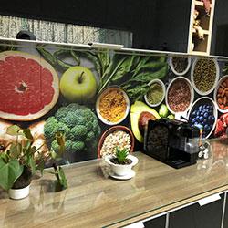 Adesivo de parede para azulejo - Decoração de Cozinha - São Paulo
