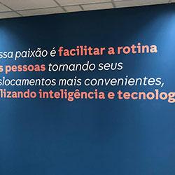 Adesivo de parede para escritório em São Paulo - Avenida Paulista