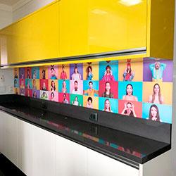 Adesivo de parede - Decoração de Cozinha - Anália Franco - São Paulo
