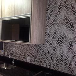 Adesivo decorativo de parede com pastilha para cozinha em SP