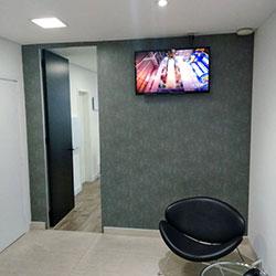 Adesivo revestimento de parede para sala de reunião - Automatos - Av. Paulista - SP