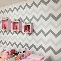 Adesivo revestimento de parede para quarto de bebê em Osasco - São Paulo