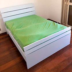 Envelopamento de cama com branco fosco - Morumbi - SP