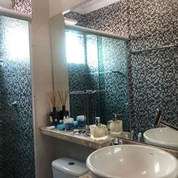 desivo de parede para azulejo - Decoração de Banheiro - Pastilha - São Paulo