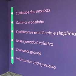 Adesivo de parede para escritório em São Paulo