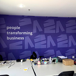 Painel Fotográfico para decoração de sala empresa