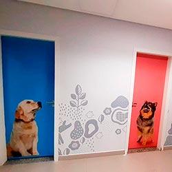 Envelopamento de Porta com Imagem - São Paulo