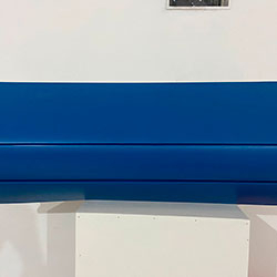 Envelopamento de ar condicionado com Azul Indigo Fosco - São Paulo - SP