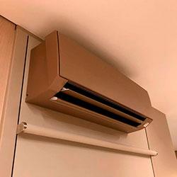 Envelopamento de ar condicionado com Escaravelho Imprimax - Moema - São Paulo