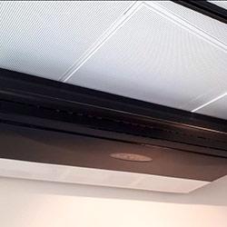 Envelopamento de ar condicionadocom Preto Fosco - Avenida Brigadeiro Faria Lima - São Paulo - SP