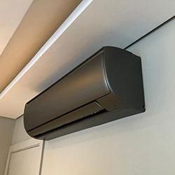 Envelopamento de ar condicionado Satin Graphite - Morumbi - São Paulo