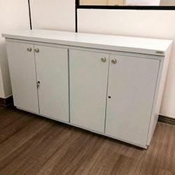 Envelopamento de armário com Branco Fosco - Zona Norte - SP