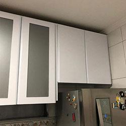 Envelopamento de armário de cozinha - Bela Vista - Osasco
