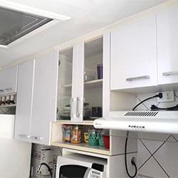 Envelopamento de armário de cozinha - Itaquera - São Paulo