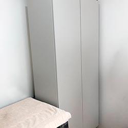 Envelopamento de armário com Cinza Glacial - Jardim Paulistano - São Paulo