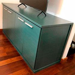 Envelopamento de armário com Pantone - Pinheiros - São Paulo