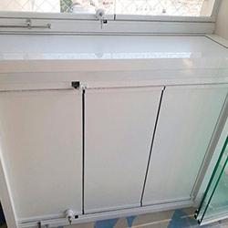 Envelopamento de condensadora de ar condicionado
