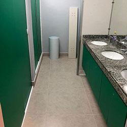 Envelopamento de gabinete de banheiro - Cerqueira Cesar - São Paulo