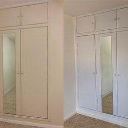 Envelopamento armários com Branco Fosco - Planalto Paulista - SP