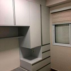 Envelopamento armário com Branco Fosco - Z/N - SP