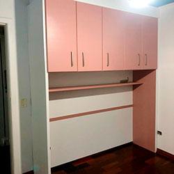Envelopamento de armários com Cobre Vechio - Pq. dos Principes - São Paulo