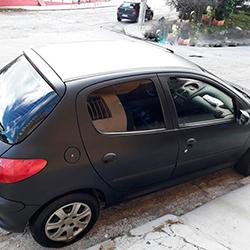 Envelopamento de carro Preto Fosco em São Paulo