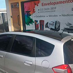 Envelopamento de teto de carro em SP