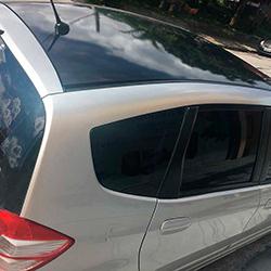 Envelopamento de teto Honda Fit em SP