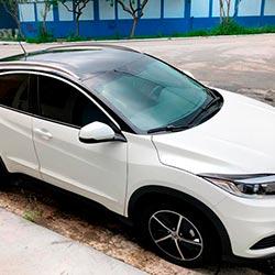 Envelopamento de Teto Honda HRV com Black Piano - São Paulo