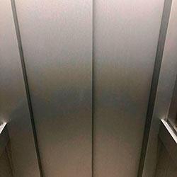 Envelopamento de Elevador com Aço Escovado - Bela Vista - São Paulo