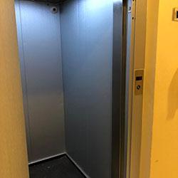 Envelopamento de Elevador com Aço Escovado - Campo Belo - SP