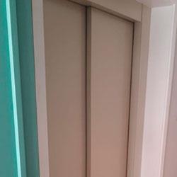 Envelopamento para porta de elevador com Aveia - Perdizes - São Paulo
