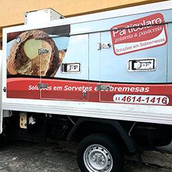 Envelopamento de Caminhão Baú HR em São Paulo