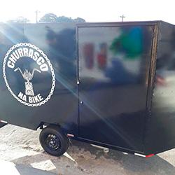 Envelopamento de pickup Vidraçaria Jaguaré