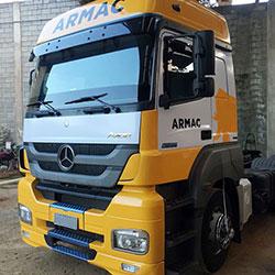 Envelopamento de Caminhão Armac