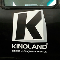 Envelopamento de Caminhão - Kinoland