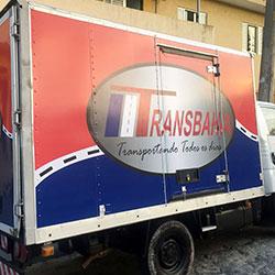 Envelopamento de Caminhão Transbahia