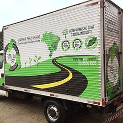 Envelopamento de Caminhão Tyre Eco