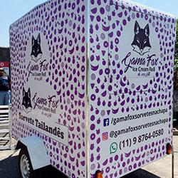 Envelopamento de food truck em São Paulo