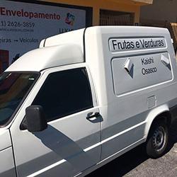 Envelopamento de Frota Adesivagem de Fiorino com recorte em São Paulo