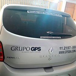 Adesivo em Recorte com Logo e Informações da Empresa