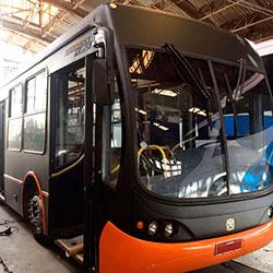 Envelopamento Ônibus com Preto Fosco em São Paulo