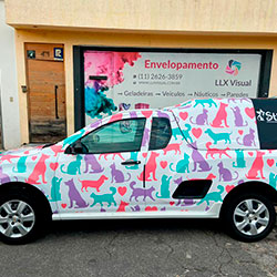 Envelopamento - Plotagem de Carro - Veterinário - São Paulo
