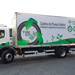 Envelopamento Caminhão Tyre Eco