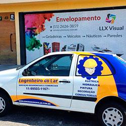 Plotagem de Veículo para empresa em São Paulo - Engenheiros do Lar