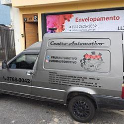 Envelopamento de Veículo para Empresa