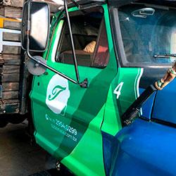 Envelopamento - Plotagem de Caminhão - Tubonasa - São Paulo